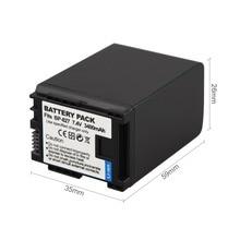 3400mAh BP 827 Battery For Canon VIXIA HF10 HF11 HF100 HF20 HF21 HF200 HG20 HG21 HFS10