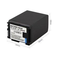 3400mAh BP-827 Battery For Canon VIXIA HF10 HF11 HF100 HF20 HF21 HF200 HG20 HG21 HFS10 HFS100 HF S10 HF S11 BP-809  BP-819 BP827
