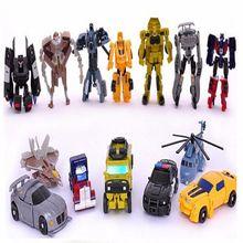 1pcs lot Original Box Transformation Toys Mini font b Robots b font Action Figures Toys Classic