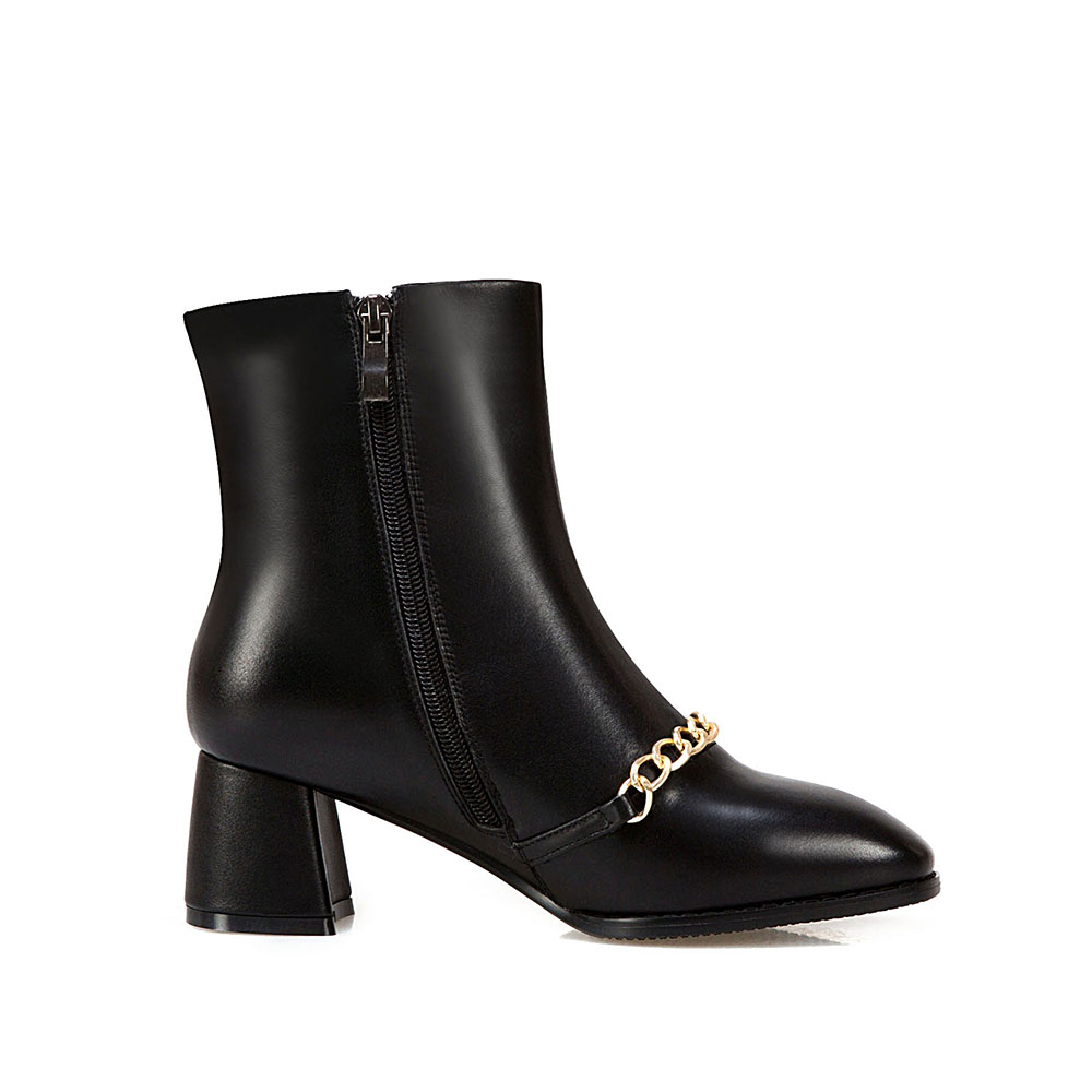Mujeres Otoño Zurriago Las Botines Zapatos Botas Tamaño Europea 34 blanco Genuino 100 43 Negro Moda Cuero rojo Del De 858RncpxrE