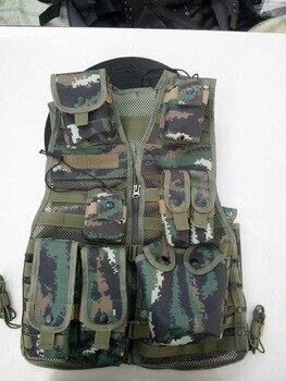 Man's Tactical vest ,bullet proof vest model Chest Protective Black vest cs vest swat protective equipment