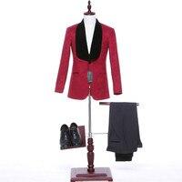 新しいデザイン男性のスーツウェディングジャケットベストマンブレザー(ジャケット+パンツ+チョッキ)