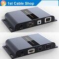 Новый HTbitT HDMI extender волоконно-Оптический кабель с ИК IP и TCP основе до 20 КМ полный HD1080P (только приемник)