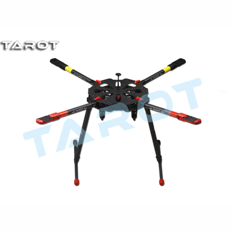 Tarot-RC F11282 Tarot TL4X001 X4 Umbrella Carbon Fiber Foldable Quadcopter Frame Kit w/ Electronic Landing Skid for RC Drone FPV tarot retractable landing gear foldable skid tarot 650 680pro quadcopter landing gear quadrocopter frame kit rc diy drone kit