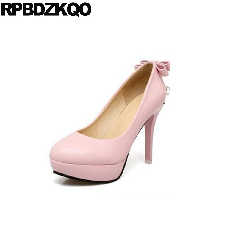 Women Ultra Pink 13 45 Shoes High Heels Crystal 12 44 Platform Diamond Plus Size Super Stiletto Crossdresser Pumps Pointed Toe