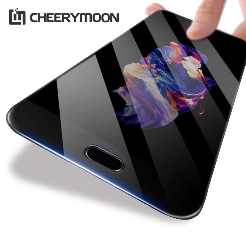 CHEERYMOON Pieno Colla Per HTC U11 + Copertura Completa Pellicola U11 Più Protezione Dello Schermo U11 + Plus Vetro Temperato Con backplane Monitoraggio Completo