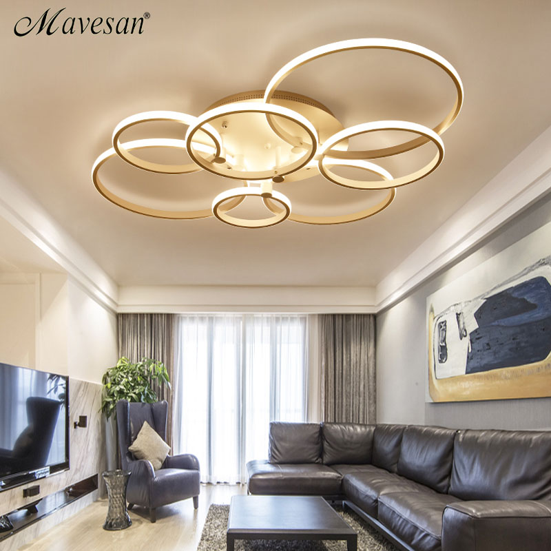New LED Ceiling Lights For Living Room luminaria abajur Indoor Lights Fixture Ceiling Lamp lamparas de techo abajur Home Decor modern led ceiling lights for home lighting plafon led ceiling lamp fixture for living room bedroom dining lamparas de techo