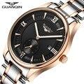 Nueva GUANQIN Mens Relojes de Primeras Marcas de Lujo Clásico Reloj Luminoso Hombres Llenos de Acero Reloj de Cuarzo Hombre Reloj Relogio masculino