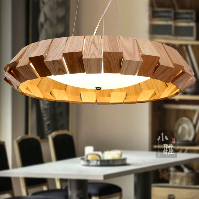 Modern minimalist living room chandelier, American country bedroom, wooden lamp,personality, creative restaurant, cafe, chandel недорго, оригинальная цена