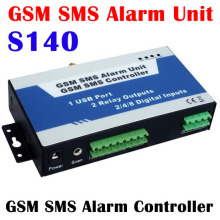 S140 GSM Wireless Remote Switch APP Support Turn Relay ON/OFF by Mobile Phone Text Command SMS Controller Alam Unite Home Guard