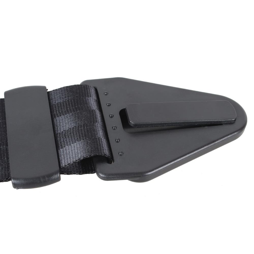 Автомобильные аксессуары Регулировка безопасности детей черный ремень безопасности автоматическое подключение ремни зажим Регулируемый замок Пряжка ремень