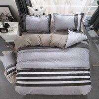 Geometric bed linen twin/full/queen size bedding set reactive printing bedclothes 3 / 4pcs duvet cover + flat sheet + pillowcase