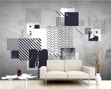 Modernen Minimalistischen Abstrakte Tapete, Wohnzimmer TV Sofa Wand  Esszimmer Schlafzimmer Restaurant Mural Bar Papel De Parede