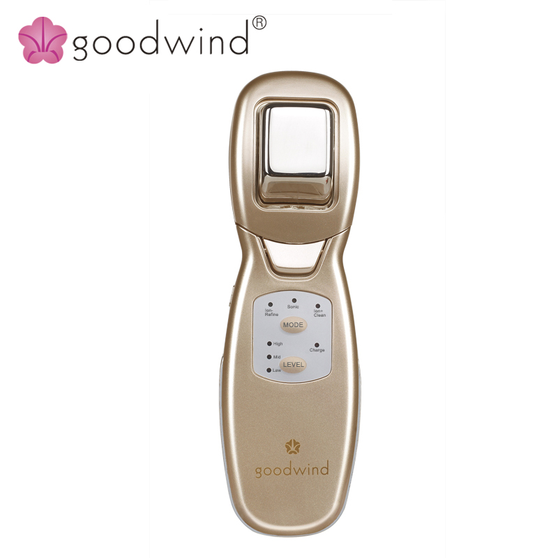 La goodwind CM-9 Facial Skin Lifting Health Care Beauty Device Electric Face Brush Cleaner Ultrasonic Massage Anti Acne Makeup la goodwind cm 2a face body massager electric beauty health skin care portable machine ultrasonic clean lift spa anti age whiten