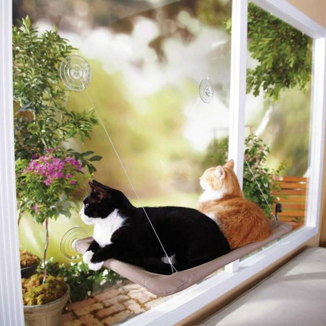 Cat Hammock Windows Hammock Cat Soft And Comfortable Bed Cat Window Mounted  Bed Set