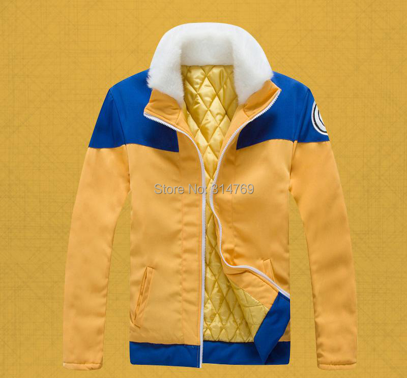 New Clothing Naruto Cosplay Thick Coat Characters Naruto Uzumaki Cosplay Costumes Halloween Jacket Hoody