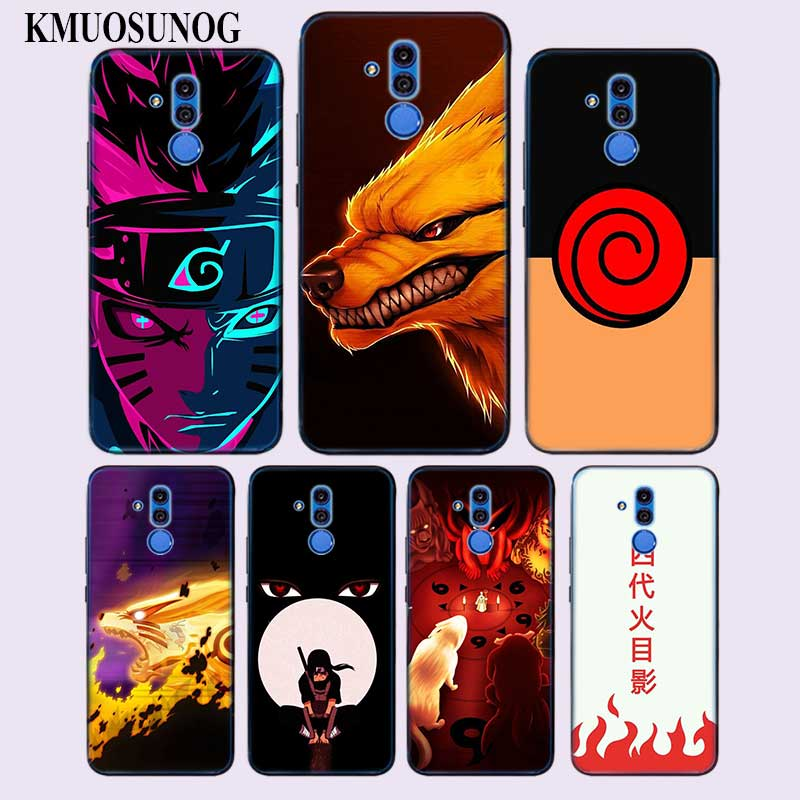 Transparent Soft Silicone Phone Case <font><b>Anime</b></font> Naruto for <font><b>Huawei</b></font> Mate <font><b>Honor</b></font> 20 10 <font><b>9</b></font> Pro <font><b>Lite</b></font> 7C Cover image