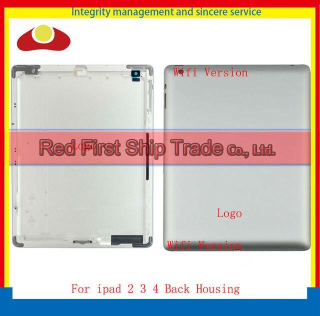 5 шт. IMEI оригинал для нового iPad 2 iPad 3 iPad 4 wi-fi или 3 г версия назад задняя крышка сзади чехол 64 ГБ 32 ГБ 16 ГБ с логотипом