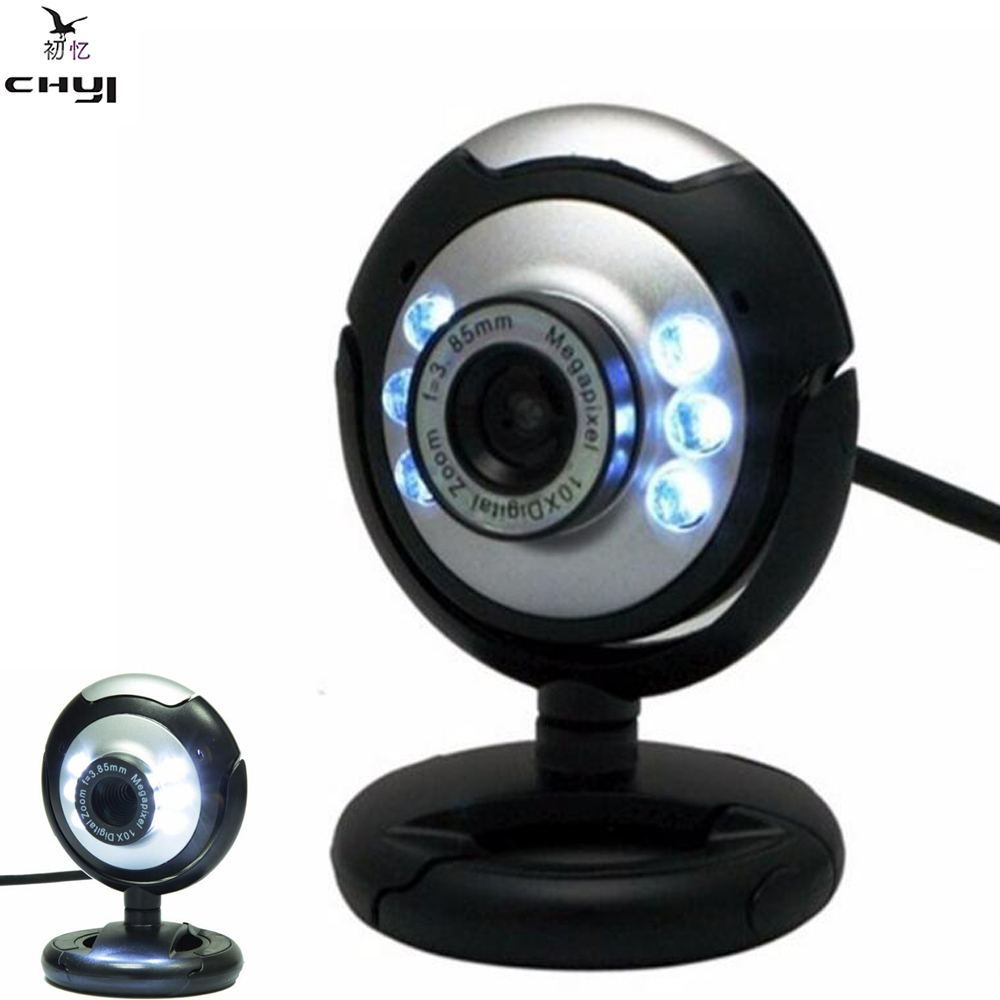 30m 8 mega pixels 6 led usb web camera webcam with