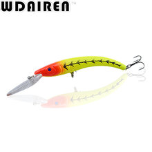 1Pcs 15.5cm 16.3g Wobbler Fishing Lure Big Minnow Crankbait Peche Bass Trolling Artificial Bait Pike Carp lures FA-311
