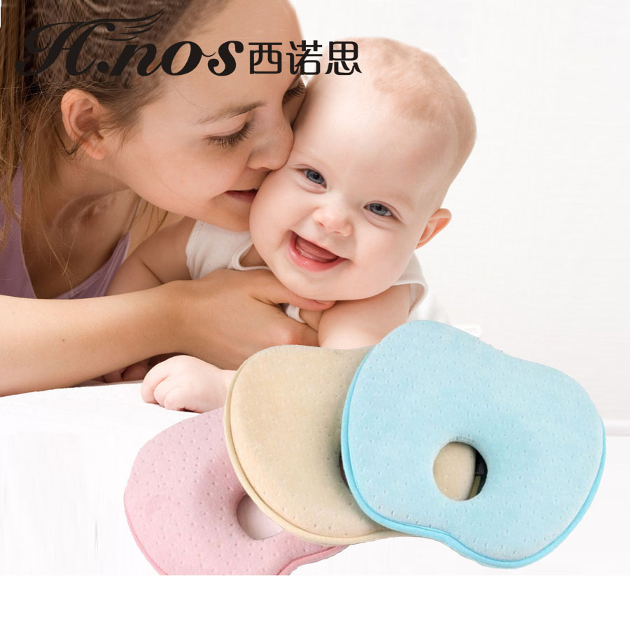 Crib pillows babies - Travesseiro Bebe Pillow Cotton Baby Sleeping Pillows Baby Crib Foldable Baby Bed Car Seat Cushion Almohadas