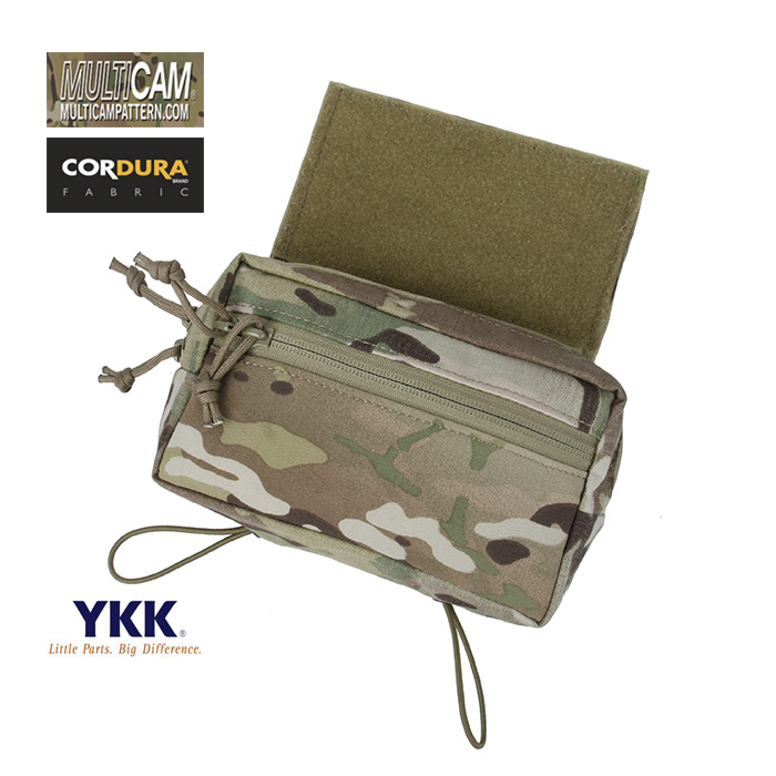 TMC Multicam SS Micro Chest Rig Plate Carrier Add On Drop Pouch Tactical Gear Accessory SKU051259
