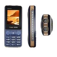 3600 мАч power bank мобильный телефон 3 SIM mp3 двойной фонарик прочный GSM сотовые телефоны ударопрочный русская клавиатура X2000M телефон
