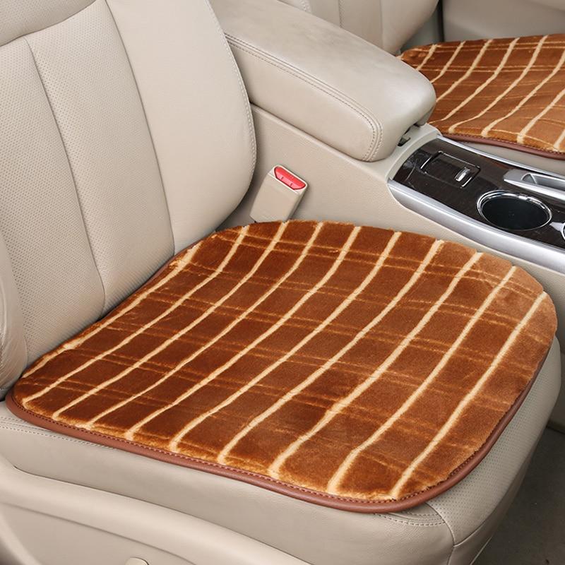 Winter Car Seat Cover Cushion Pad Villus Car pad Car Styling For BWM Audi Toyota Honda Hyundai Nissan Kia Lexus Accessories