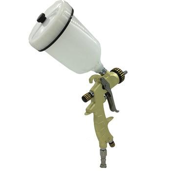 цена на SAT1215 high pressure nozzle 1.3mm gravity feed gun for automotive air spray paint gun hvlp car painting spray gun