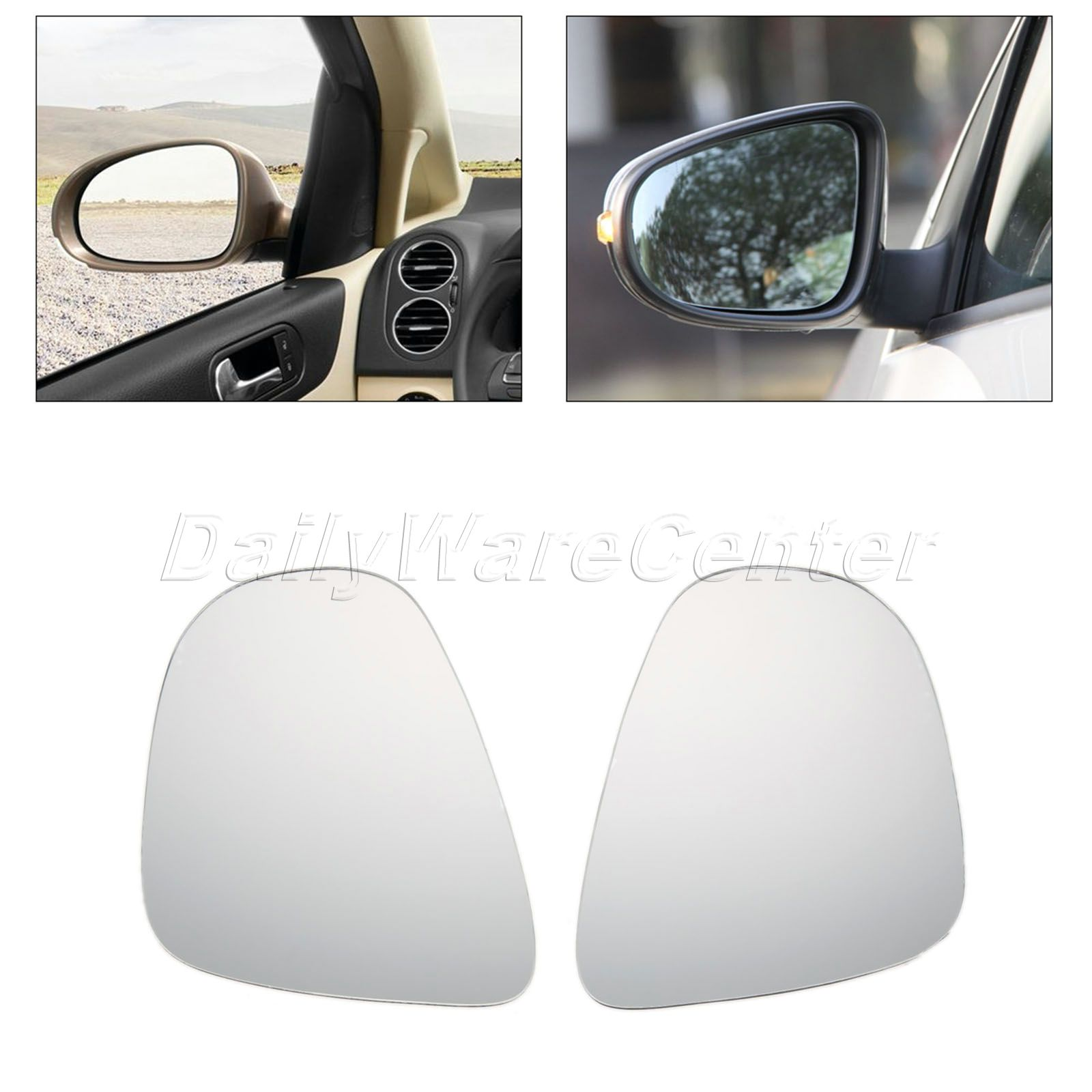 2pcs car styling heated door wing mirror glass left right side 2pcs car styling heated door wing mirror glass left right side mirrors for vw golf mk6 touran curved car rearview heating mirror in mirror covers from planetlyrics Image collections