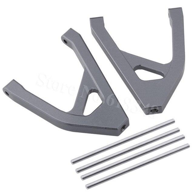 2 sztuk aluminium tylne górne ramię zawieszenia Susp a-arm dla Traxxas 1/16 Slash 4WD 70054 RC Hobby części do ulepszenia samochodów 7032 Hop Up