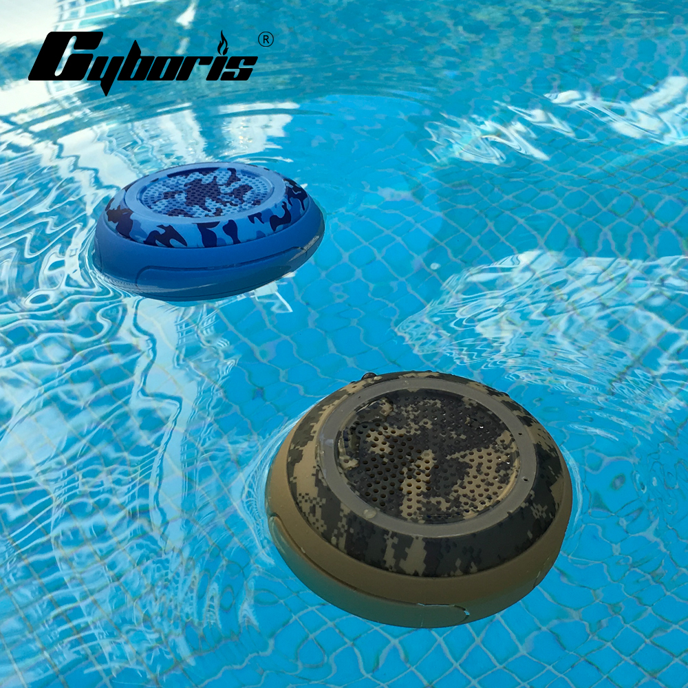 CYBORIS IP67 5W Deep Bass Swimming Speaker Pool Floating TWS Bluetooth Speakers Wireless Waterproof stereo for Outdoor TF Speake