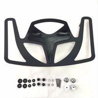 Черный Заготовка Алюминий задний багажник Lunggage стойки для 2001 2012 Honda Goldwing GL1800 в байкерском стиле
