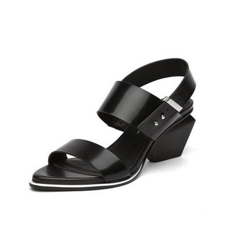 6 Femmes Stiletto Étrange argent Cm Sandale Noir Jady Talon Sandalias Mujer Cuir En Gladiateur Color Rose Chaussures Femme Sandales gun Haute D'été Véritable q0xUIw