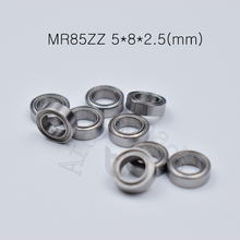MR85ZZ 5*8*2.5(mm) 10pieces bearing Metal sealed free shipping ABEC-5 chrome steel miniature bearings hardware Transmission Part