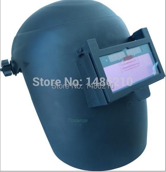 ФОТО for free post shading welding mask welding helmet Polished Chrome 15 years Only do the welding machine helmet