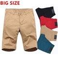 Лето новый большой код случайные шорты молодые мужские хлопчатобумажные мужские пять очков плюс большой размер мужские шорты