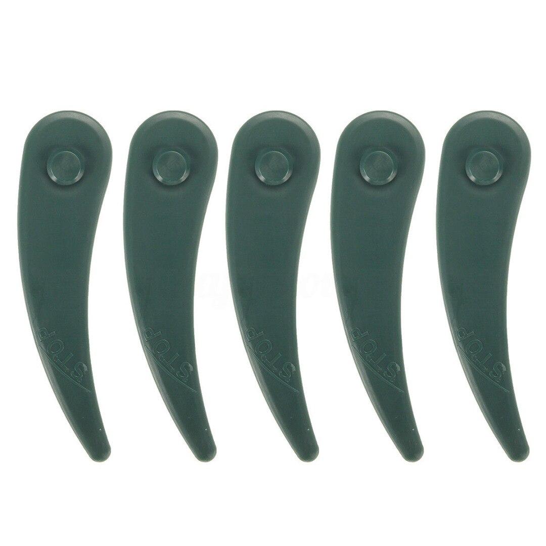 10/25/50/100Pcs Plastic Replacement Grass Strimmer Dura Lawn Mower Blades For BOSCH ART 23-18 LI