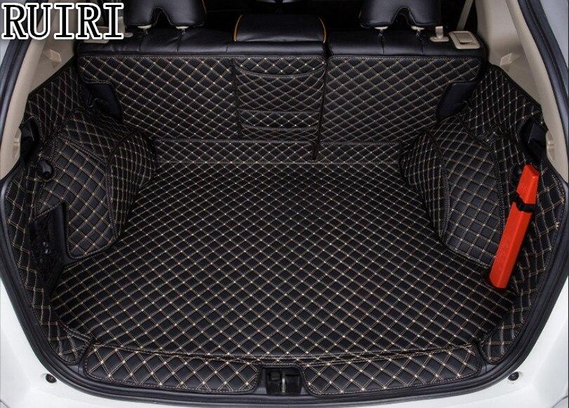 Migliore qualità! tappetini tronco speciale per Honda CR-V 2016-2012 cargo liner boot tappeti impermeabili durevoli per CRV 2015, Trasporto libero
