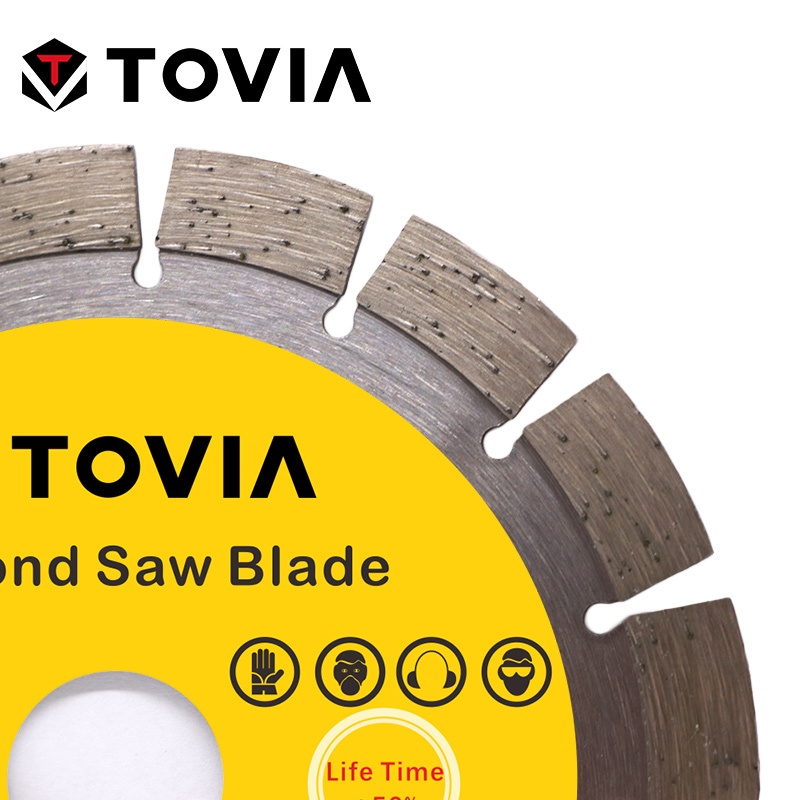 Image 3 - TOVIA Diamond Circular Saw Blades Diamond Saw Disc 125mm Cutting Stone Granite Marble Concrete Cutting Tool Blade-in Saw Blades from Tools