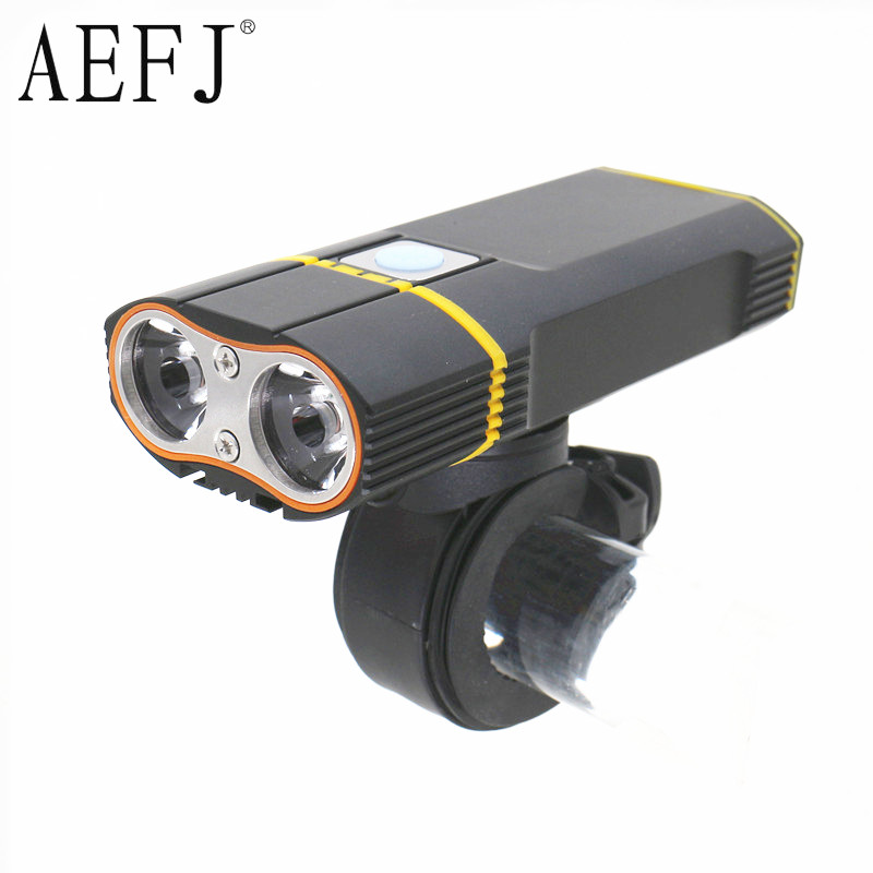 Bicycle light Waterproof Multi-function 2*T6 Front Light USB Charging Bicycle Lamp Bike Headlight Light Flashlight Torch bicycle light waterproof multi function 2 t6 front light usb charging bicycle lamp bike headlight light flashlight torch