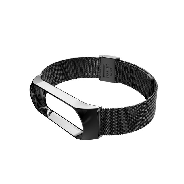 Mi band 6 3 4 5 Strap Metal for Xiaomi Mi Band 5 4 3 Bracelet Screwless Xiaomi Mi Band 4 Bracelet Correa Xiomi MiBand Wrist Band 6