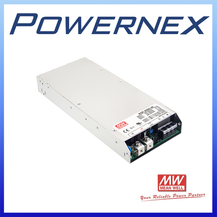 [PowerNex] MEAN WELL RSP-2000-24 meanwell 1920W Single Output with PFC Function  Power Supply  RSP-2000