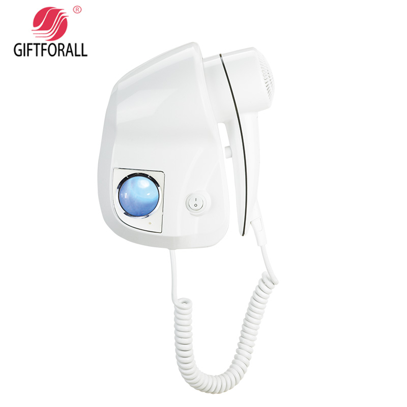 GIFTFORALLHairdryer Professional Styling Powerful Wall Mounted Portable the hair windHotel Bathroom Home D139F giftforall hair dryer hotel bathroom home professional hair salon powerful wall mounted portable mini hairdryer d139 d