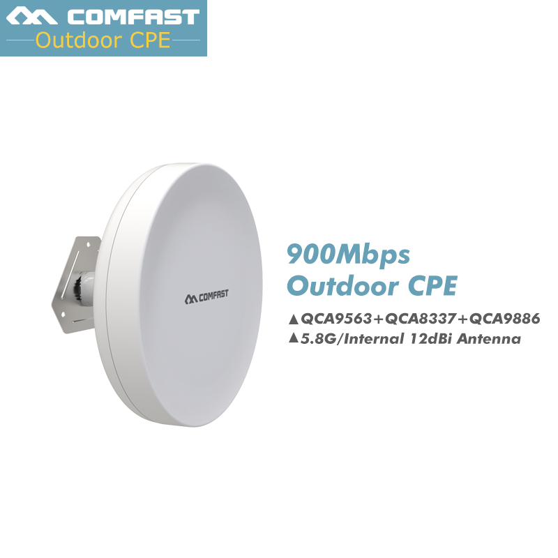 2.4G 300Mbps ,5G 900Mbps Long Range Wireless Outdoor CPE WIFI Extender Access Point AP WIFI Router Bridge WIFI IP camera monitor 300mbps in wall wifi access point 2 4g wireless ap router