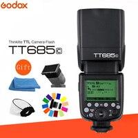 Godox TT685C Flash speed lite Высокоскоростная синхронизация внешний ttl для Canon EOS 1100D 1000D 7D 6D 60D 50D 600D 500D 650D 700D + подарочный комплект