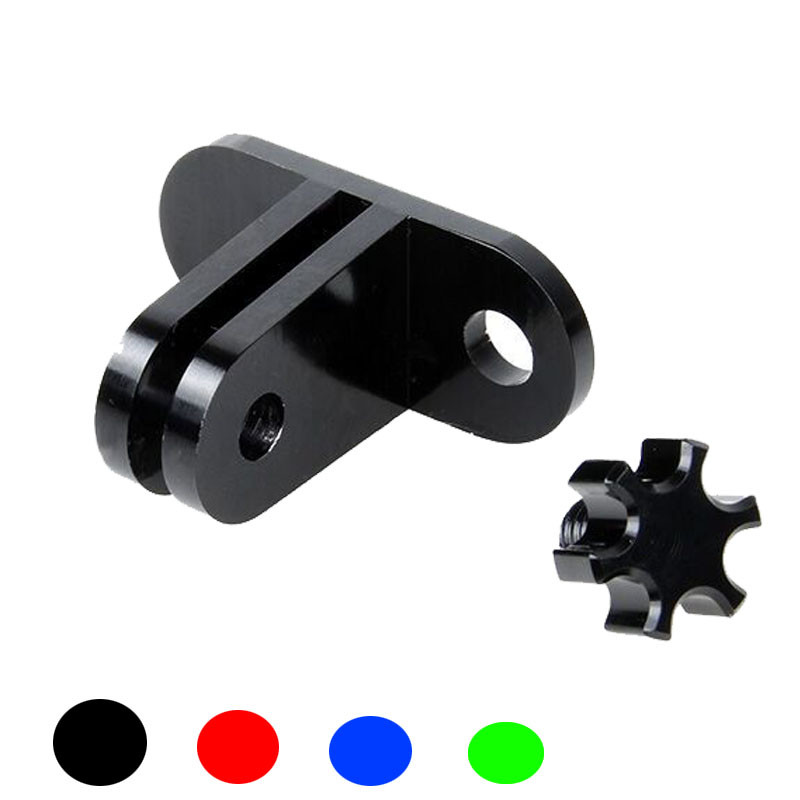Universal Aluminum Xiaoyi Adapter Mount Tripod Adapter for Xiaomi yi Action Camera Xiaoyi 2 Accessories