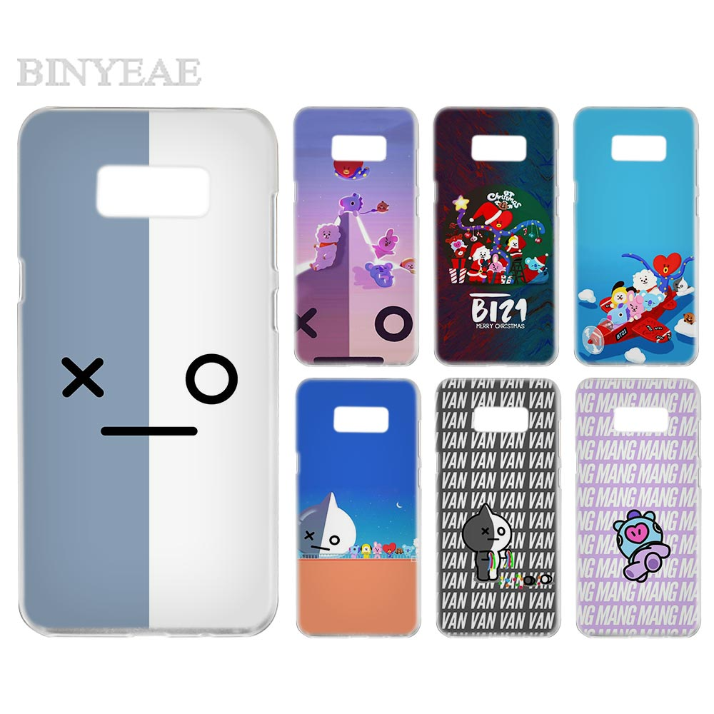 hot sale online 0078d a56f2 BTS BT2 Transparent Phone Case Cover Cases For Samsung Galaxy S3 S4 S5 S6  S7 S8 S9 Edge Plus Mini