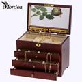 2017 The Latest Version Jewelry Holder Storage Organizer Case Jewelry Display Gift Box Beauty Vanity Drawer Jewelry Box