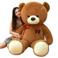 1,6 м большой Размеры Медвежонок плюшевые игрушки Любовь медвежий жир плюшевый медведь мягкая плюшевая игрушка любителей подарок, подарок н